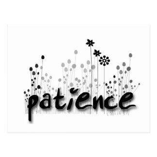 Patience FOS Postcard