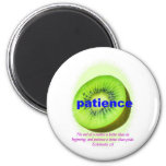 Patience Fridge Magnets