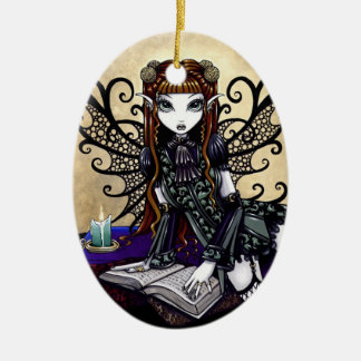 """""""Patience"""" Gothic Victorian Fairy Ornament"""