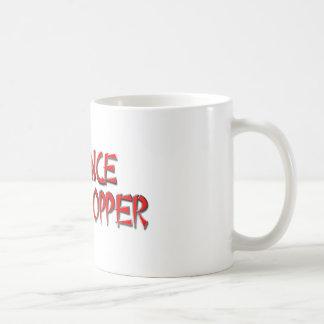 PATIENCE GRASSHOPPER CLASSIC WHITE COFFEE MUG