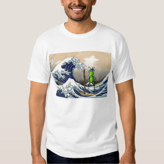 Patience Grasshopper on a boat Tee Shirt