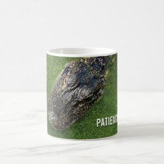 Patience is Power • Alligator • Florida Nature Coffee Mug