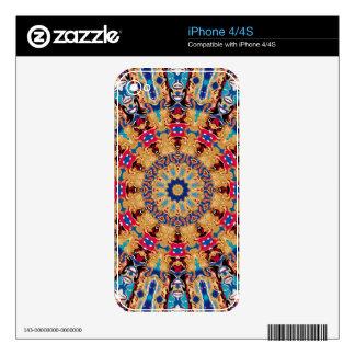 Patience Kaleidoscope iPhone 4S Skins