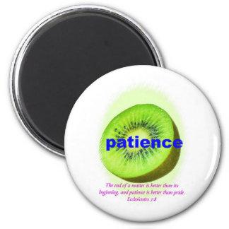 Patience Fridge Magnets