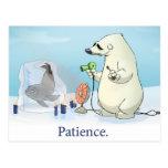 """Patience"" Postcard"