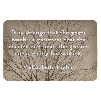 Patience Quote Magnet