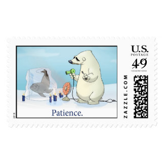 """""""Patience"""" Stamps"""