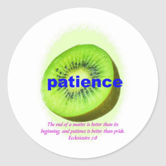 Patience Stickers