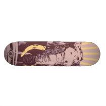 Patience&Wisdom Skateboard Deck