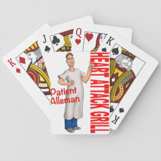 Patient Alleman Playing Cards