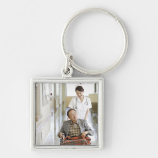 Patient and nurse keychain