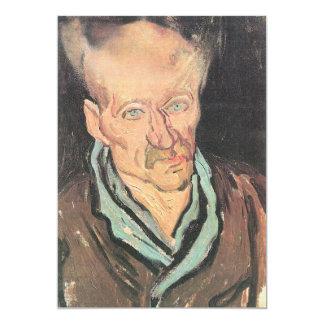 Patient at Hospital Saint-Paul by Vincent van Gogh Card