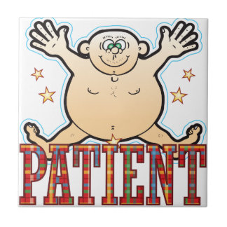 Patient Fat Man Tile