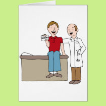 Patient Holding Insurance Card