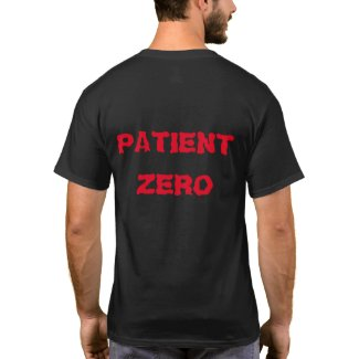 Patient Zero and Pax Pox Logo shirt