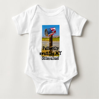 Patiently awaiting MY Stimulus! Baby Bodysuit