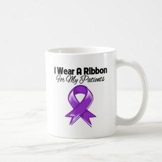 Patients - I Wear Purple Ribbon Mug