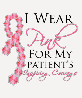 Patient's Inspiring Courage - Breast Cancer Shirt