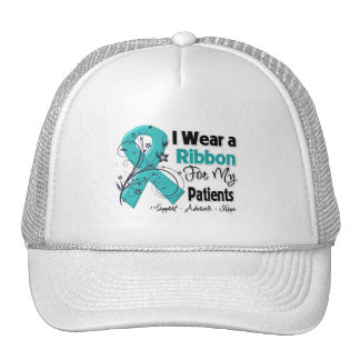 Patients - Ovarian Cancer Ribbon Trucker Hat
