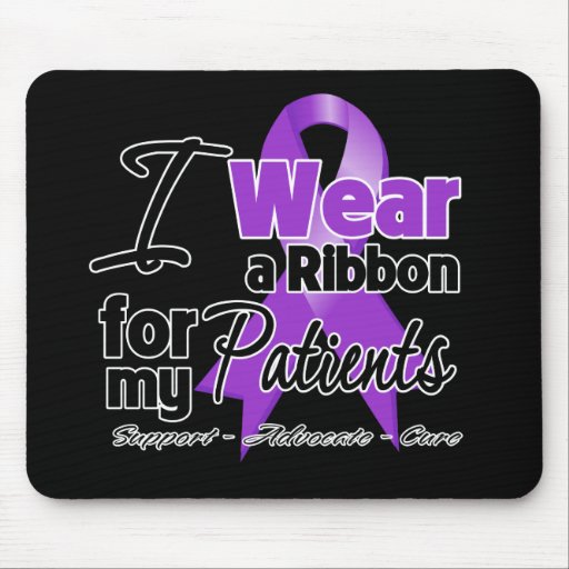 Patients - Pancreatic Cancer Ribbon Mouse Pad