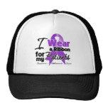 Patients - Pancreatic Cancer Ribbon Trucker Hat