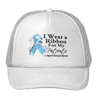 Patients Prostate Cancer Ribbon Hat