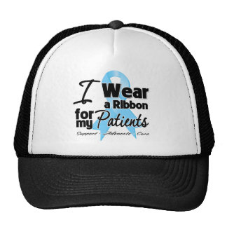 Patients - Prostate Cancer Ribbon Mesh Hats