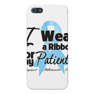 Patients - Prostate Cancer Ribbon iPhone 5 Cover