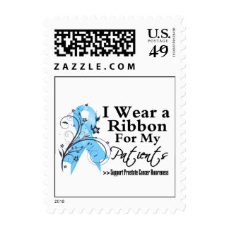 Patients Prostate Cancer Ribbon Stamp