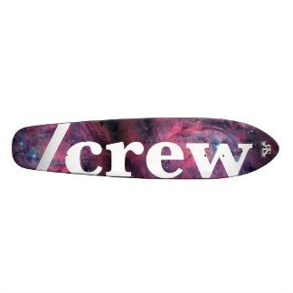 Patín de /Crew al tablero del espacio