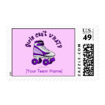 Patín de Derby del rodillo - púrpura Envio