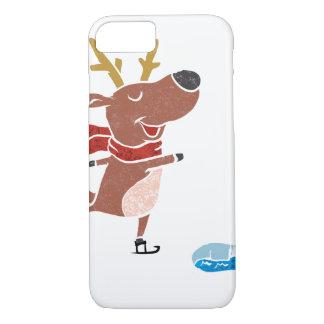 Patín de hielo del reno funda iPhone 7