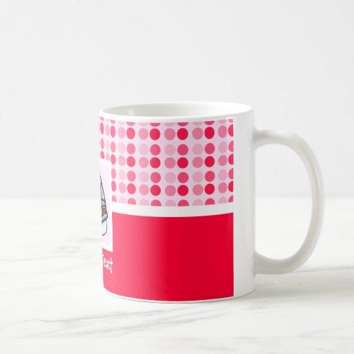 Patín de hielo lindo tazas de café