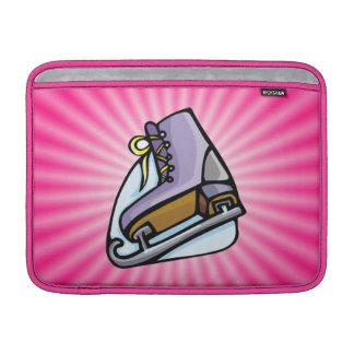 Patín de hielo rosado funda macbook air
