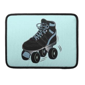 Patín de ruedas en negro funda macbook pro