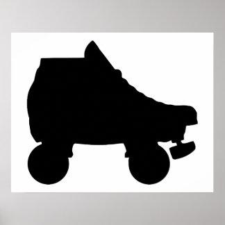 patín de ruedas poster