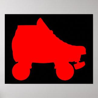 patín de ruedas póster