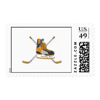 Patín del hockey franqueo