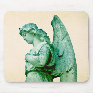 Patina Angel Mouse Pad