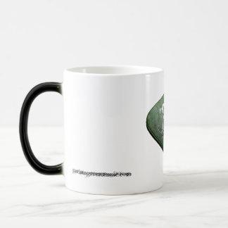 Patina Green Morphing Mug