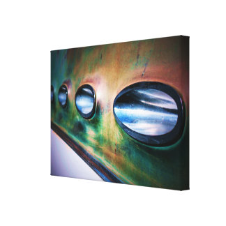 Patina Portholes Canvas Print