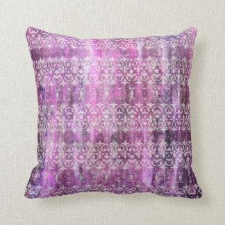 Pátina púrpura: Afiligranado Cojines