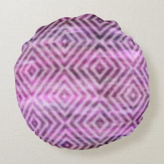 Pátina púrpura: Diamantes Cojín Redondo