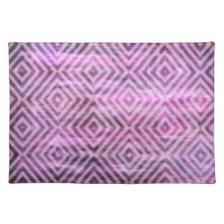 Pátina púrpura: Diamantes Mantel