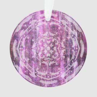 Pátina púrpura: Mandala