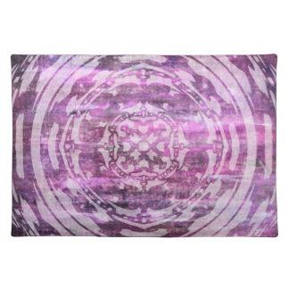 Pátina púrpura: Mandala Mantel