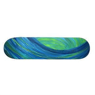 patinador azul skate boards