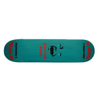 Patinador de la metida de pata patin personalizado