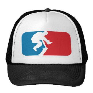 Patinador de la primera división gorras