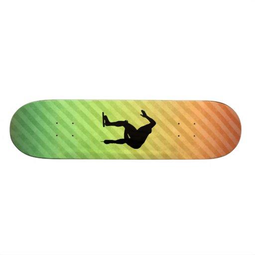Patinador de la velocidad skateboard